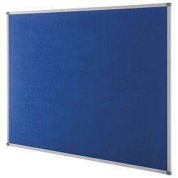 Ploča tkanina 90x 60cm aluminijski okvir Nobo 1900915 plava