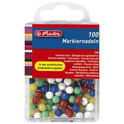 Pribadače pk100 Herlitz 8770356 sortirano blister