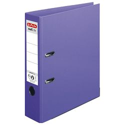 Registrator A4 široki samostojeći maX.file Herlitz 10834414 ljubičasti