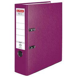 Registrator A4 široki samostojeći Q.file Herlitz 50011872 svijetlo ljubičasta