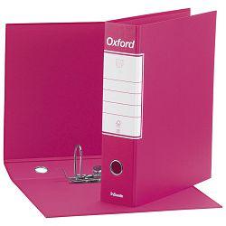 Registrator A4 široki u crnoj kutiji Oxford Esselte rozi