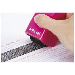 Roler-pečat za zaštitu teksta Rexel 2112007 rozi!!