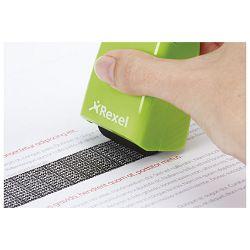 Roler-pečat za zaštitu teksta Rexel 2115007 zeleni!!