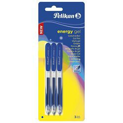 Roler 0,7mm pk3 Energy Gel G21 Pelikan 921569 plavi blister