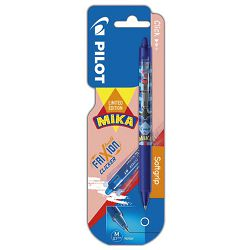 Roler gel 0,7mm Frixion clicker Mika Pilot BLRT-FR7 plavi blister!!