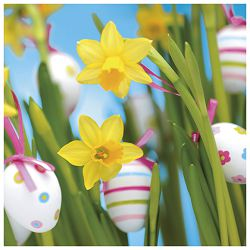 Salvete troslojne 33x33cm pk20 Easter decoration Herlitz 11341450!!