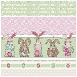 Salvete troslojne 33x33cm pk20 Funny Bunny Herlitz 11439973