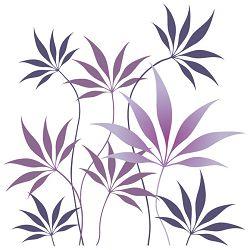Salvete troslojne 33x33cm pk20 Purple fern Herlitz 11236445
