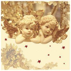 Salvete troslojne 33x33cm pk20 Romantic Angels Herlitz 11383635!!