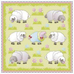 Salvete troslojne 33x33cm pk20 Sheep Herlitz 11439981!!