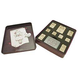 Set za pečatiranje u ukrasnoj metalnoj kutiji Ladybird Gorjuss 449GJ01!!