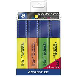 Signir 1-5mm classic pk3+1 gratis Staedtler 364-S WP4P