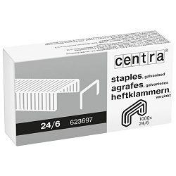 Spajalice strojne br.24/6 pk1000 Centra Esselte 623697