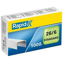 Spajalice strojne br.26/6 pk1000 Standard Rapid 24861300