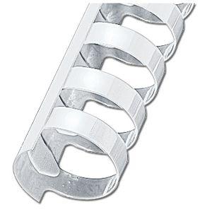 Spirala plastična fi-32mm oval pk50 GBC.4028204 bijela
