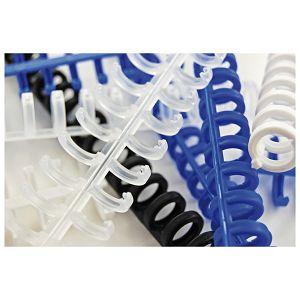 Spirala plastična klik fi-8mm pk50 GBC 388002E bijela