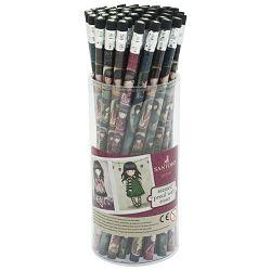 Stalak s olovkama grafitnim s gumicom pk48 Gorjuss 666GJD01!!