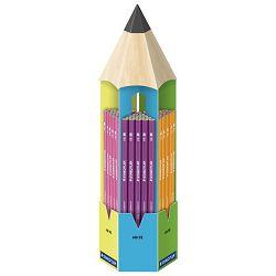Stalak s olovkama grafitnim Wopex Neon HB pk90 Staedtler 180F CT90