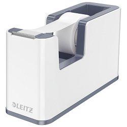 Stalak s trakom ljepljivom Wow 53641001 Leitz bijeli/sivi