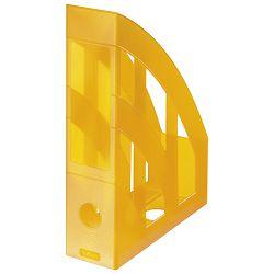 Stalak za spise okomit plastičan classic Herlitz 10074151 prozirno narančasti
