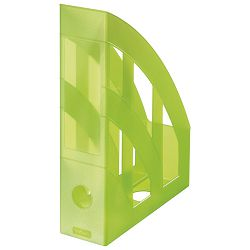 Stalak za spise okomit plastičan classic Herlitz 10653749 prozirno svijetlo zeleni