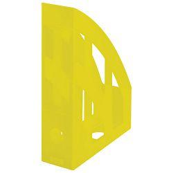 Stalak za spise okomit plastičan classic Herlitz 10653780 prozirno žuti!!