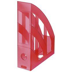 Stalak za spise okomit plastičan classic Herlitz 10653822 prozirno crveni!!