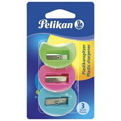 Šiljilo pvc model 101 pk3 Pelikan 700184 blister