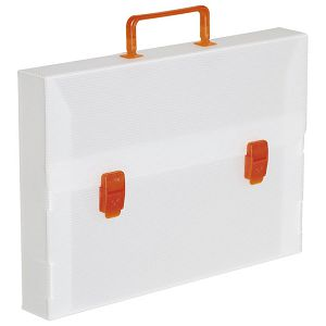 Torba-kofer pp-tvrdi  380x270x50mm Dispaco ECO5 bijela!!