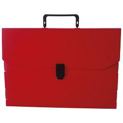 Torba-kofer pp-tvrdi  380x270x50mm Dispaco EURO5 crvena