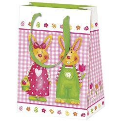 Vrećice ukrasne 16x22x8cm Pair of bunnies Herlitz 11439965