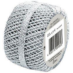 Vrpca ukrasna konac 20m Herlitz 11103975 srebrna