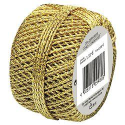 Vrpca ukrasna konac 20m Herlitz 11103991 zlatna