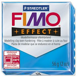 Masa za modeliranje   56g Fimo Effect Staedtler 8020-374 prozirno plava