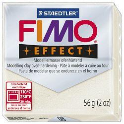 Masa za modeliranje   56g Fimo Effect Staedtler 8020-08 metalik biserno bijela