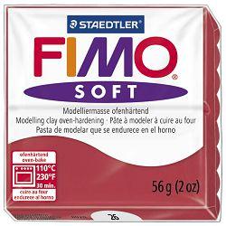 Masa za modeliranje   56g Fimo Soft Staedtler 8020-26 boja trešnje