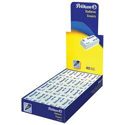 Gumica plastična AS40 Pelikan 606095 bijela-KOMAD