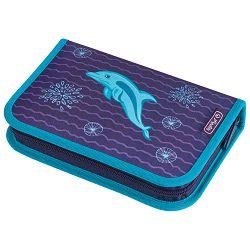 Pernica puna 1zip 2preklopa Dolphin Herlitz 50020966