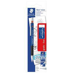 Olovka tehnička 0,5mm Mars micro+gumica 526 53 Staedtler 775 05SBK blister