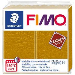Masa za modeliranje   57g Fimo Effect Leather-effect Staedtler 8010-179 oker