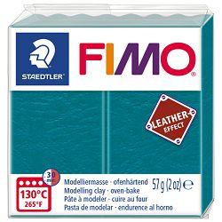 Masa za modeliranje   57g Fimo Effect Leather-effect Staedtler 8010-369 smaragdno zelena