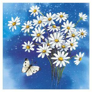 Salvete troslojne 33x33cm pk20 Flower romance Herlitz 11095437