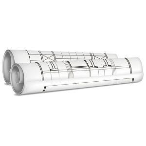 Tuba za nacrte fi- 6,3/duljina  50cm Giudicarie