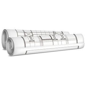 Tuba za nacrte fi- 6,3/duljina  80cm Giudicarie