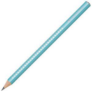 Olovka grafitna B Jumbo Grip Sparkle Faber Castell 111640 sortirano!!