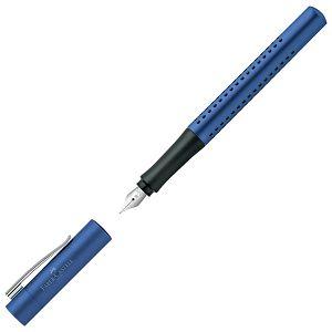 Garnitura olovka kemijska+nalivpero Grip 2011 Faber Castell plava