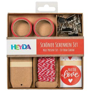 Set za omatanje i dekoraciju Heyda 20-48707 42 crveni