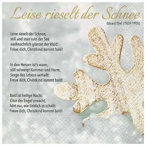 Salvete troslojne 33x33cm pk20 Winter song Herlitz 40030166