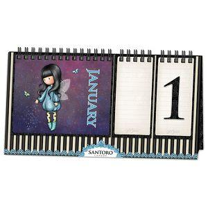 Kalendar stolni trajni Bubble Fairy Gorjuss 760GJ03!!