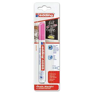 Marker-kreda za staklo 2-3mm Edding 4095/1 neon rozi blister